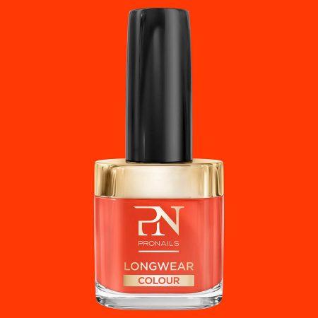O verniz de unhas LongWear 205 tem uma alta pigmentação, o que lhe garante uma alta cobertura das unhas, facilitando assim a aplicação.