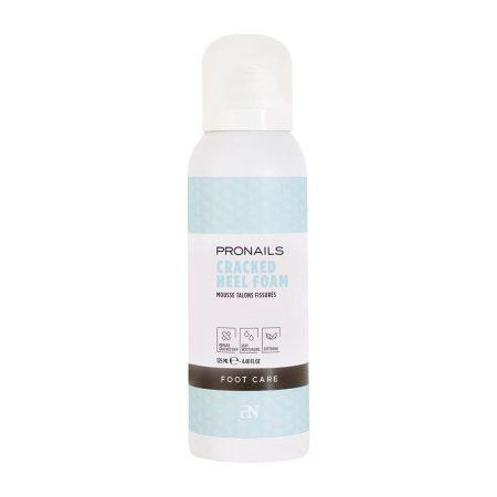 A espuma de calcanhares secos e gretados da ProNails repara, hidrata e suaviza a pele extremamente seca dos calcanhares!