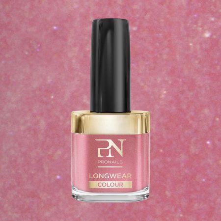 O verniz de unhas LongWear 257 tem uma alta pigmentação, o que lhe garante uma alta cobertura das unhas, facilitando assim a aplicação.