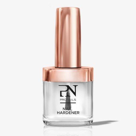 Diga adeus às unhas enfraquecidas! A base de verniz Nail Hardener é uma base endurecedora de unhas, que fortalece as unhas naturais!