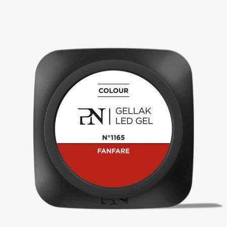 O Gellak é um gel de cor muito pigmentado e que por isso garante uma cobertura perfeita a todas as unhas de gel. Este gel de cor é muito fácil de aplicar, o que lhe permite poupar muito tempo por serviço.