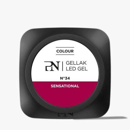 O Gellak é um gel de cor que dá uma cobertura perfeita às unhas de gel. É muito fácil de aplicar e permite poupar muito tempo por manicure.