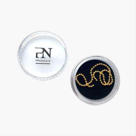 A fita de pérolas douradas Golden Pearls String permite-lhe criar efeitos texturizados nas suas unhas, de forma fácil e com distinta!