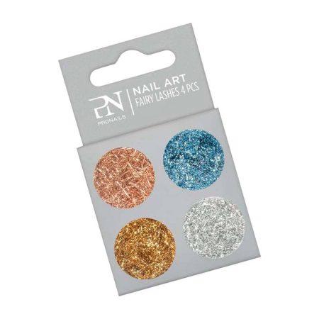 As decorações de nail art Fairy Lashes permitem-lhe criar efeitos texturizados nos seus desenhos de nail art.