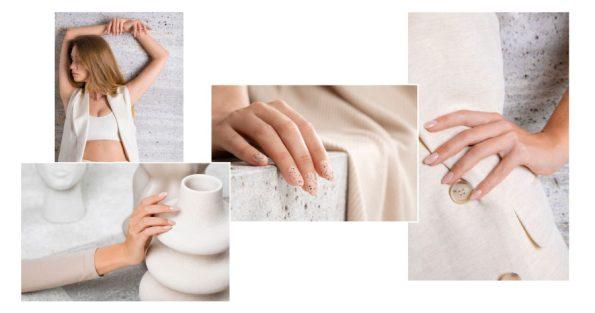 As unhas nude estão em alta! Para um look renovado e saudável. Esta coleção da ProNails traz-nos cores quentes e naturais, como bege e cinza.